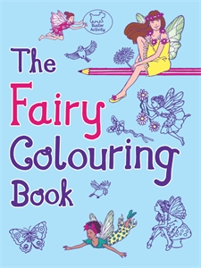 The Fairy Colouring Book by Ann Kronheimer