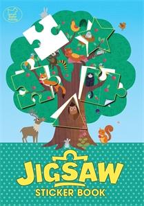 The Jigsaw Sticker Book by Genie Espinosa, Chantal Renn