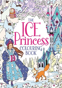 The Ice Princess Colouring Book by Ann Kronheimer