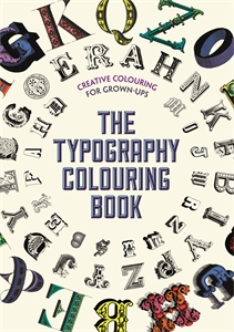 The Typography Colouring Book by