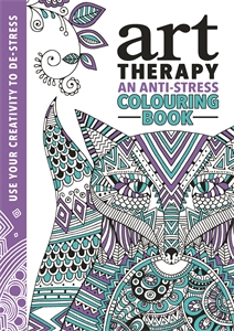The Art Therapy Colouring Book by Richard Merritt, Hannah Davies & Cindy Wilde