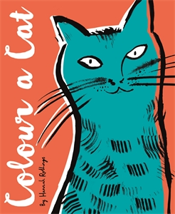 Colour a Cat by Hannah Rollings