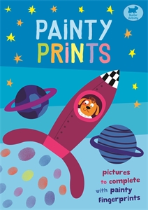 Painty Prints: Pictures to Complete with Fingerprints by Jorge Martin