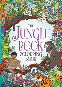 The Jungle Book Colouring Book by Ann Kronheimer