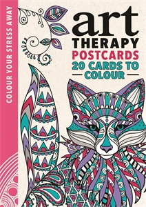 Art Therapy Postcards by