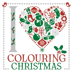 I Heart Colouring Christmas by