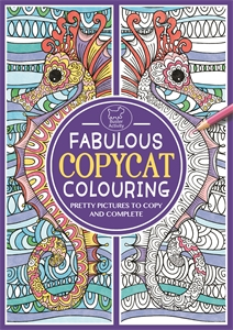 Fabulous Copycat Colouring by Sally Moret