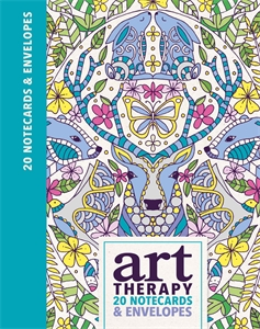 Art Therapy Notecards by Lizzie Preston and Chellie Carroll