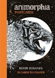 Animorphia Postcards by Kerby Rosanes