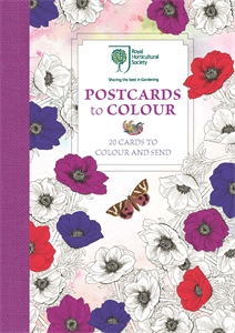 RHS Postcards to Colour by