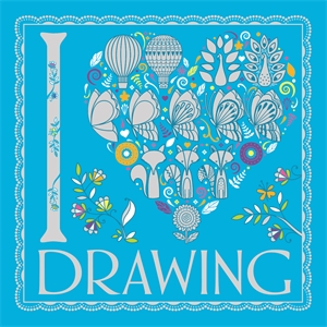 I Heart Drawing by Beth Gunnell