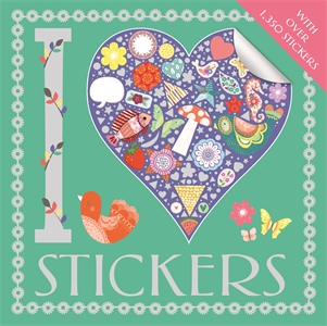 I Heart Stickers by Beth Gunnell