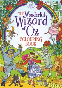 The Wonderful Wizard of Oz Colouring Book by Ann Kronheimer