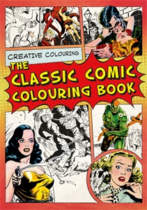 The Classic Comic Colouring Book by