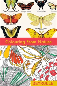 Colouring from Nature by Deyrolle