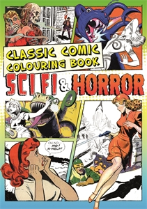 Classic Comic Colouring Book by