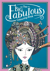The Big Fabulous Colouring Book by Hannah Davies