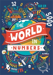 The World in Numbers by Clive Gifford, Marianne Taylor, Steve Martin