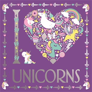 I Heart Unicorns by Jessie Eckel