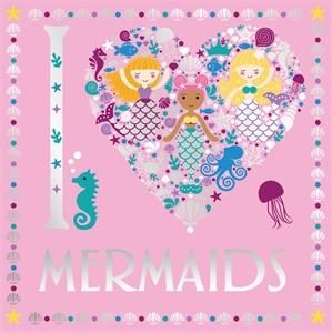 I Heart Mermaids by