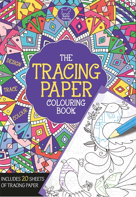 The Tracing Paper Colouring Book - Michael O\'Mara Books
