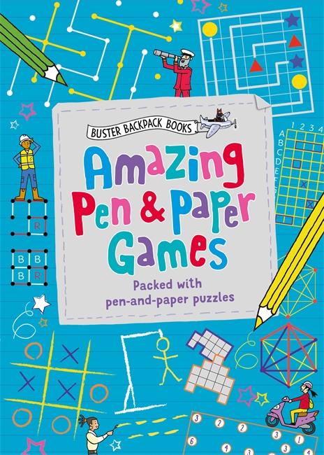 Amazing Pen & Paper Games - Michael O'Mara Books