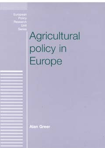Agricultural policy in Europe