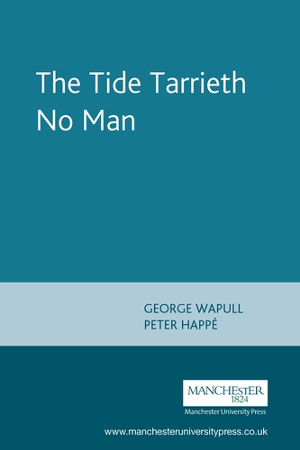 The Tide Tarrieth No Man