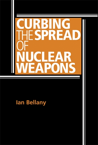 Curbing the spread of nuclear weapons