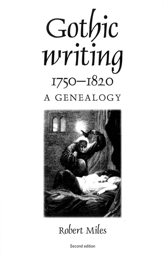 Gothic writing 1750–1820