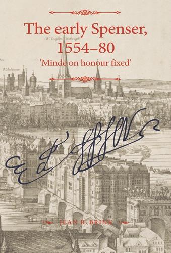 The early Spenser, 1554–80
