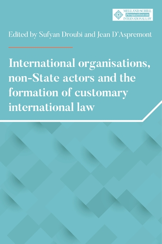 International organisations, non-State actors, and the formation of customary international law