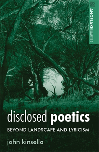 Disclosed poetics