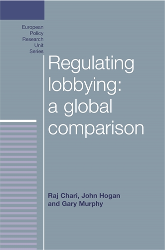 Regulating lobbying: a global comparison