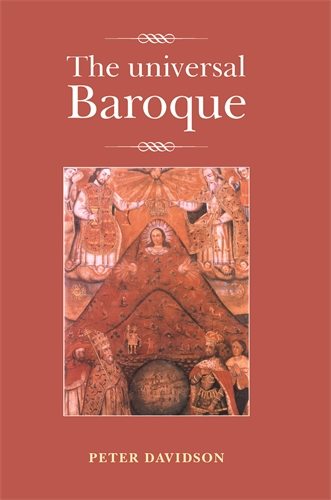 Manchester university press the universal baroque for Origin of the word baroque