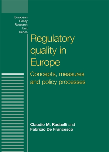 Regulatory quality in Europe
