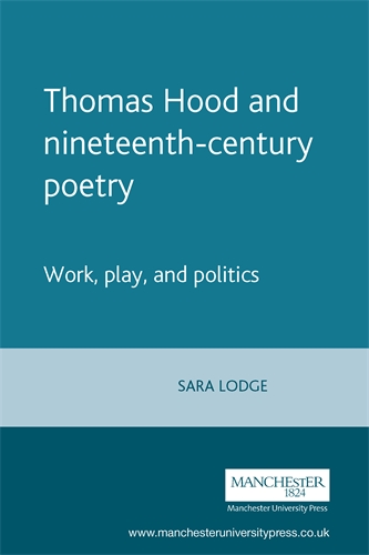 Thomas Hood and nineteenth-century poetry
